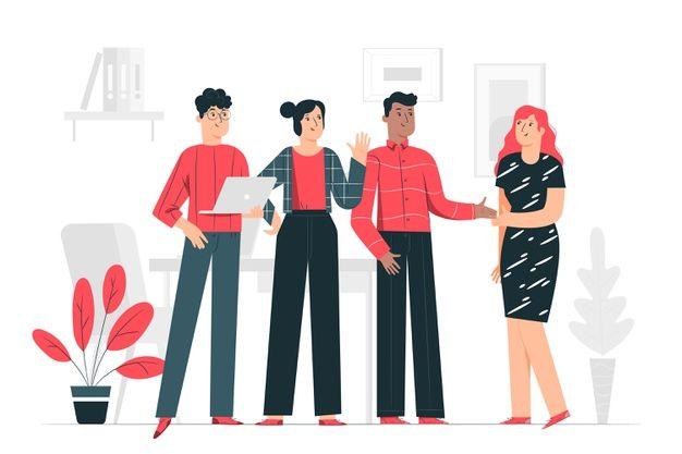 ilustracion recursos humanos