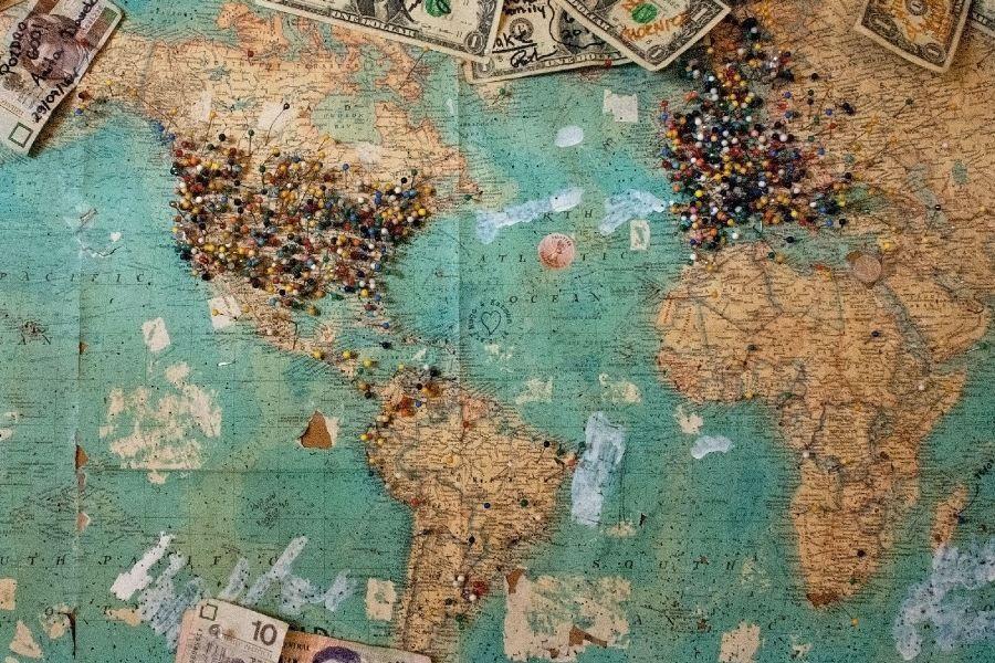 internacional intercultural mapa