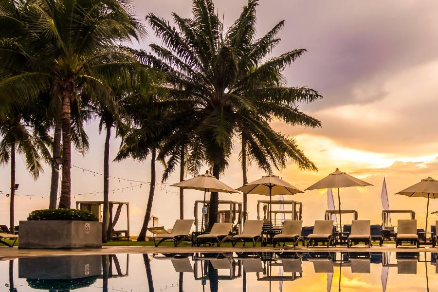 foto paradisiaca piscina