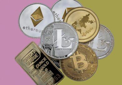 invertir en oro o en criptomonedas