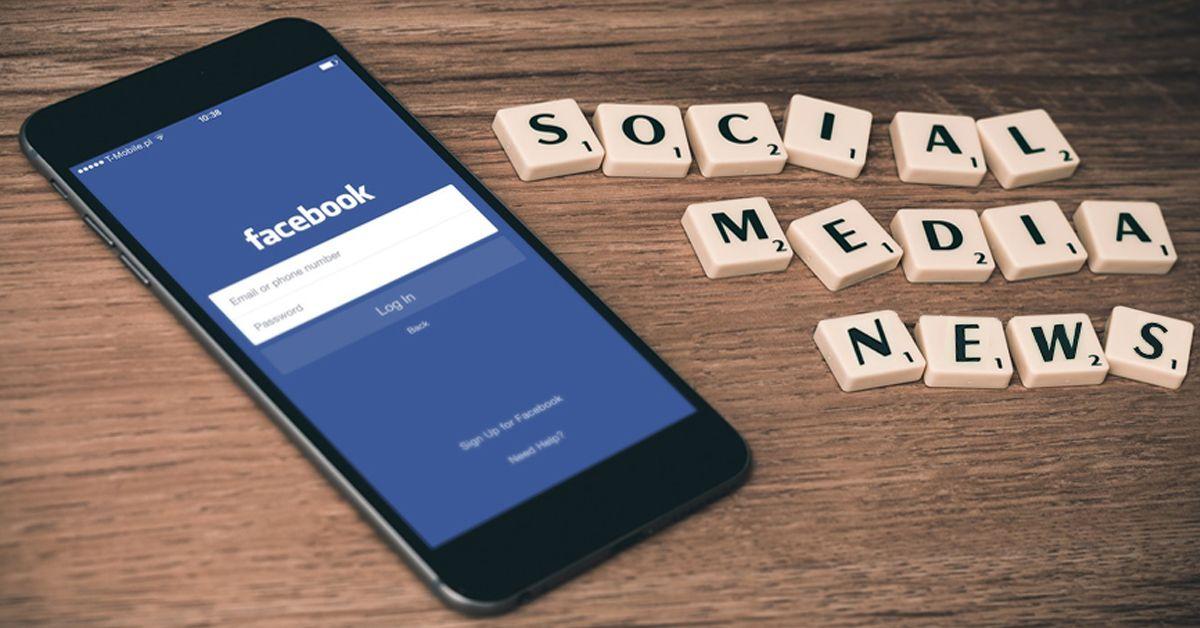 texto e imagen de social media